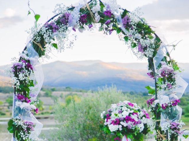 La boda de Borja y Lana en Pinilla Del Valle, Madrid 36