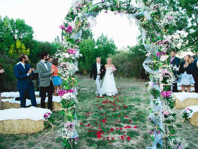 La boda de Borja y Lana en Pinilla Del Valle, Madrid 42