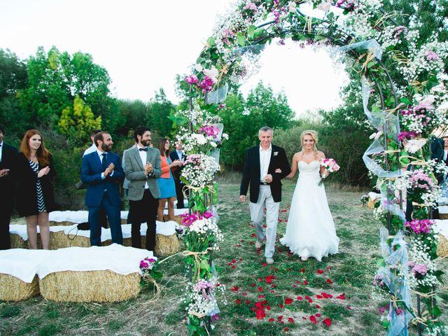 La boda de Borja y Lana en Pinilla Del Valle, Madrid 43