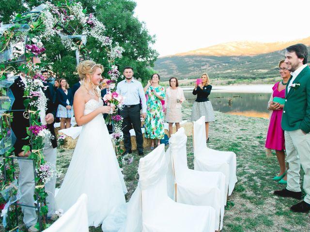 La boda de Borja y Lana en Pinilla Del Valle, Madrid 44