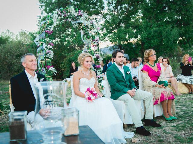 La boda de Borja y Lana en Pinilla Del Valle, Madrid 47