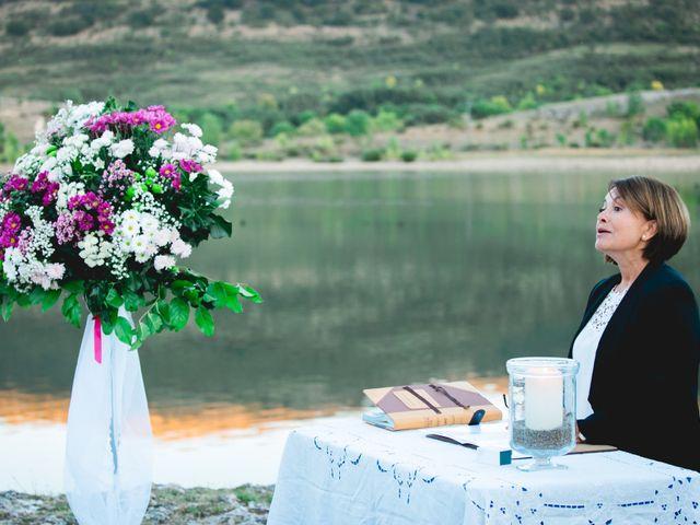 La boda de Borja y Lana en Pinilla Del Valle, Madrid 48