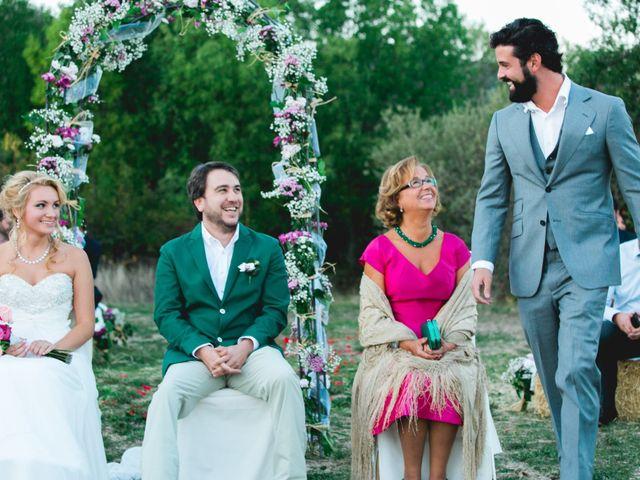La boda de Borja y Lana en Pinilla Del Valle, Madrid 49