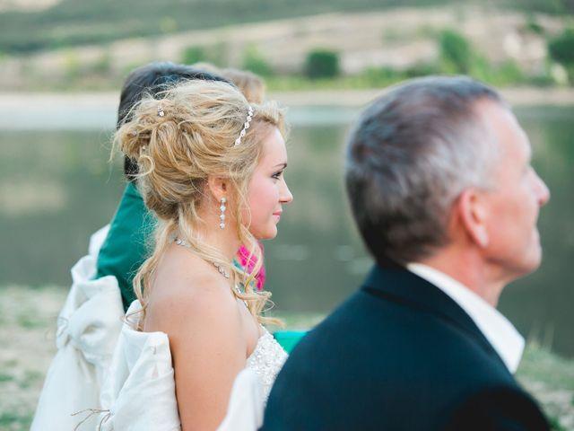 La boda de Borja y Lana en Pinilla Del Valle, Madrid 51