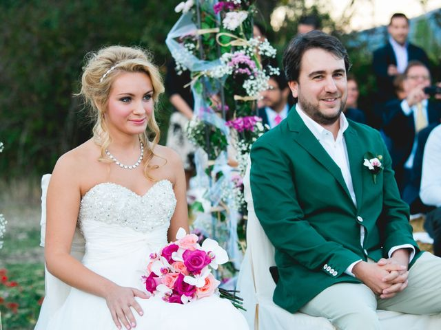 La boda de Borja y Lana en Pinilla Del Valle, Madrid 53