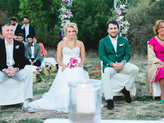 La boda de Borja y Lana en Pinilla Del Valle, Madrid 54