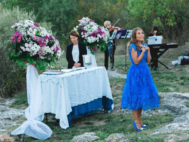 La boda de Borja y Lana en Pinilla Del Valle, Madrid 56