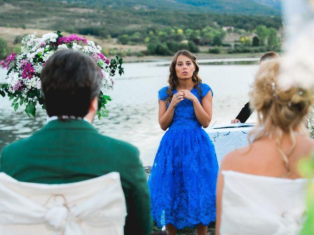 La boda de Borja y Lana en Pinilla Del Valle, Madrid 60