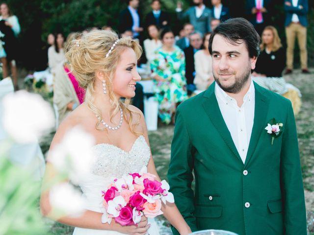 La boda de Borja y Lana en Pinilla Del Valle, Madrid 64