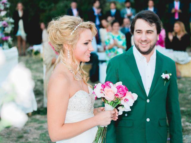 La boda de Borja y Lana en Pinilla Del Valle, Madrid 66