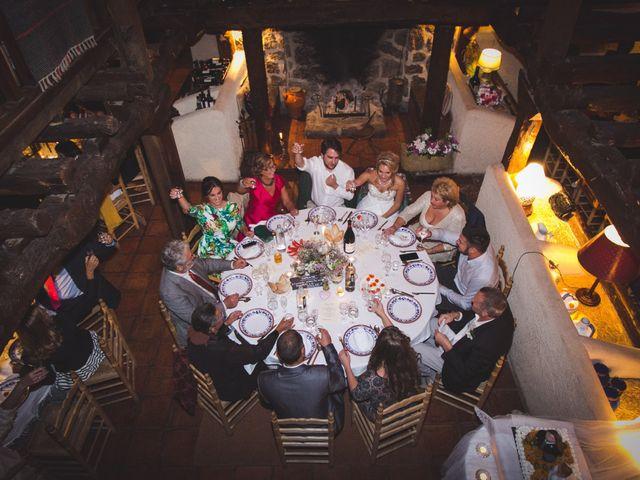 La boda de Borja y Lana en Pinilla Del Valle, Madrid 76