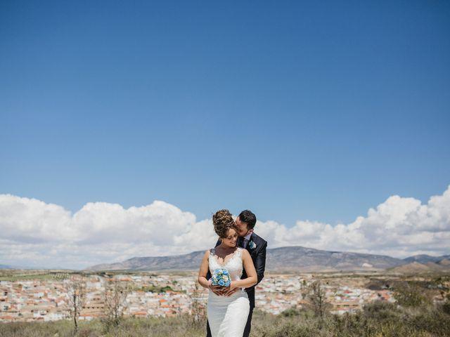 La boda de Cristian y Gloria en Cullar, Granada 44