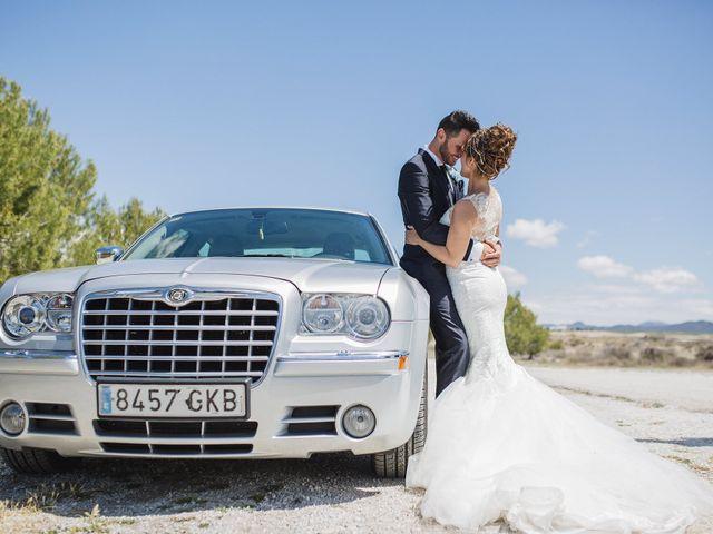 La boda de Cristian y Gloria en Cullar, Granada 45