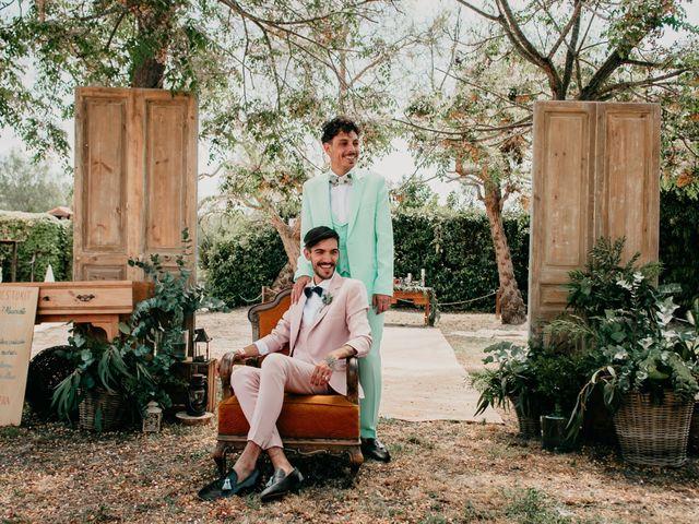 La boda de Albert y Fran