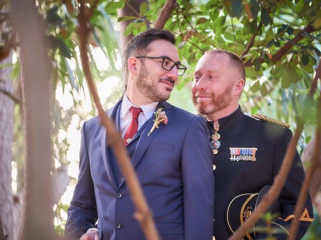 La boda de Nacho y Esteban en Bétera, Valencia 1
