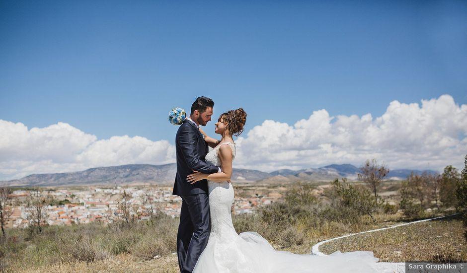 La boda de Cristian y Gloria en Cullar, Granada