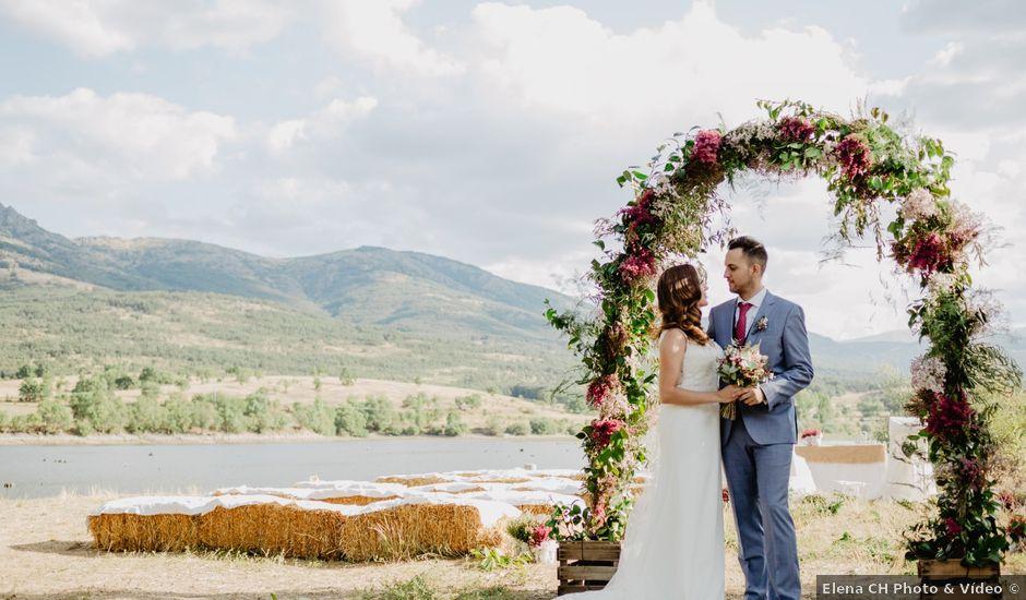 La boda de Miguel y Ana en Pinilla Del Valle, Madrid