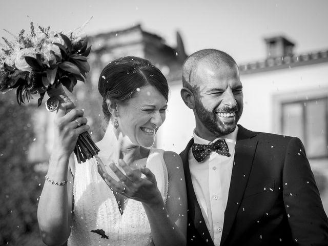 La boda de María y Cibrán