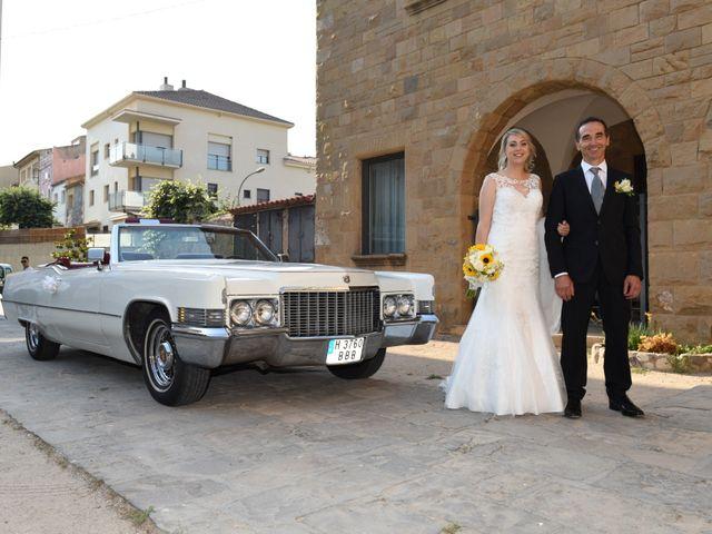 La boda de Javi y Alba en Sant Fost De Campsentelles, Barcelona 1