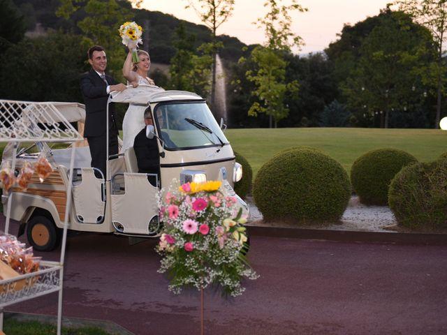 La boda de Javi y Alba en Sant Fost De Campsentelles, Barcelona 38