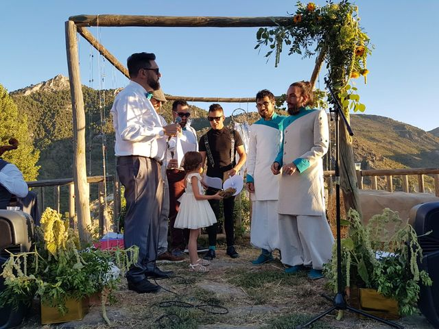 La boda de Miguel  y Lucas   en Guejar Sierra, Granada 4