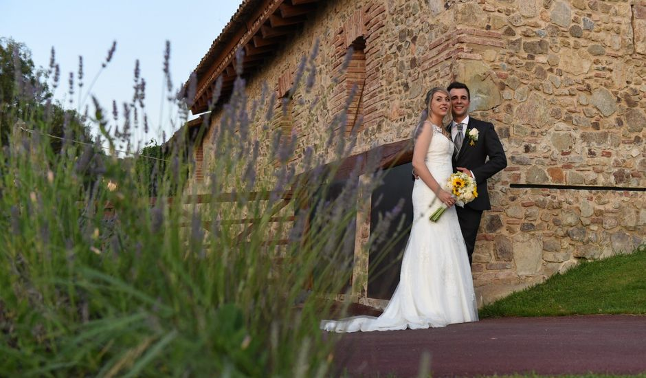 La boda de Javi y Alba en Sant Fost De Campsentelles, Barcelona