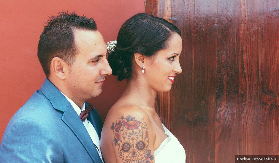 La boda de Daniel y Nayara en El Sauzal, Santa Cruz de Tenerife