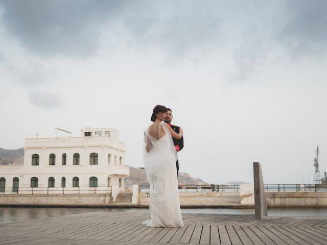 La boda de Paula y Adrián en Cartagena, Murcia 23