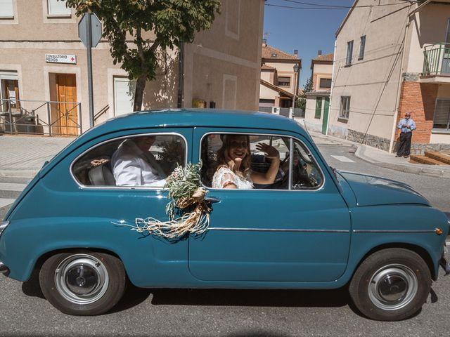 La boda de Ismael y Vanesa en La Lastrilla, Segovia 23