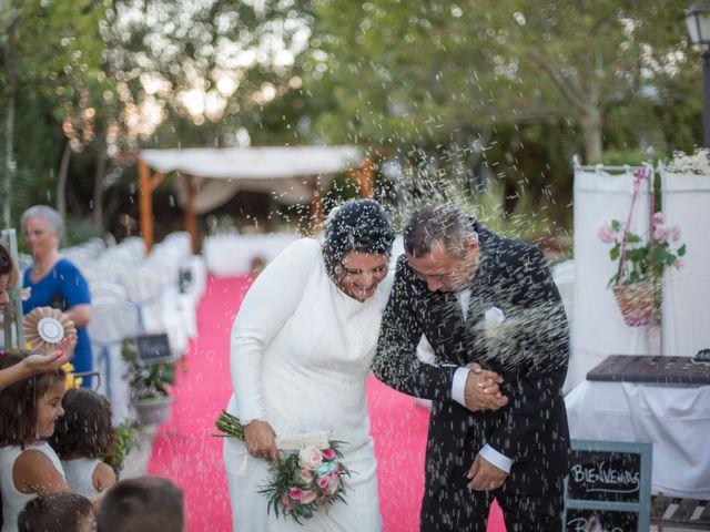 La boda de Sagra y Juanan