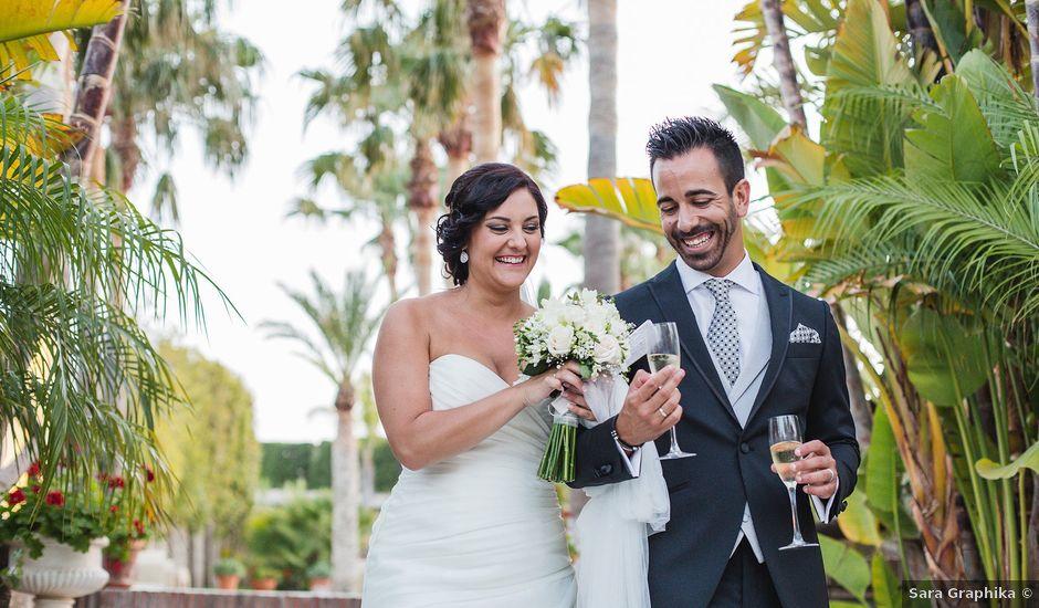 La boda de Adrián y Lourdes en Motril, Granada