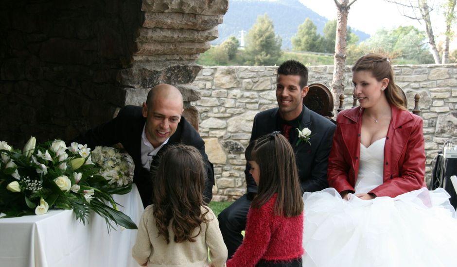 La boda de Eric y Judit en Sallent, Barcelona