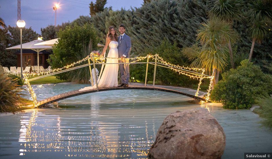 La boda de Ernesto y Laura en Utebo, Zaragoza