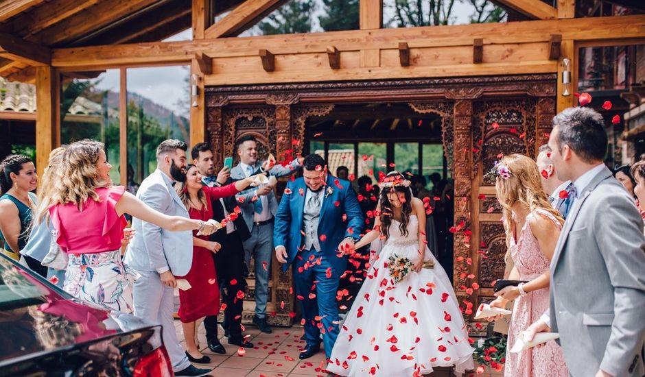 La boda de Alejandro y Aitana  en Zeanuri, Vizcaya