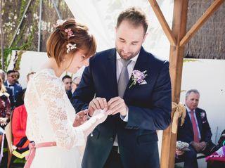 La boda de Mapi y David