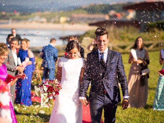 La boda de Noelia y David en Suances, Cantabria 11