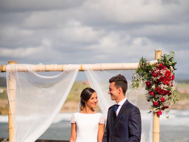 La boda de Noelia y David en Suances, Cantabria 13