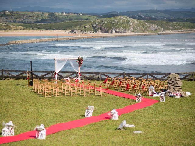 La boda de Noelia y David en Suances, Cantabria 15