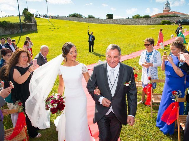 La boda de Noelia y David en Suances, Cantabria 18