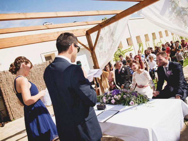 La boda de David y Mapi en Mas De Las Matas, Teruel 6