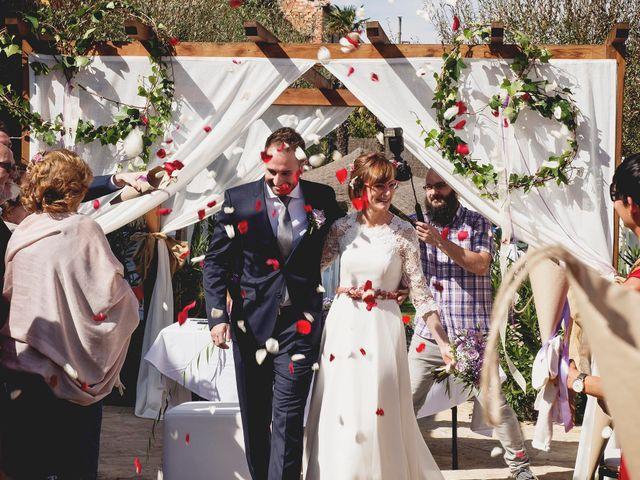 La boda de David y Mapi en Mas De Las Matas, Teruel 1