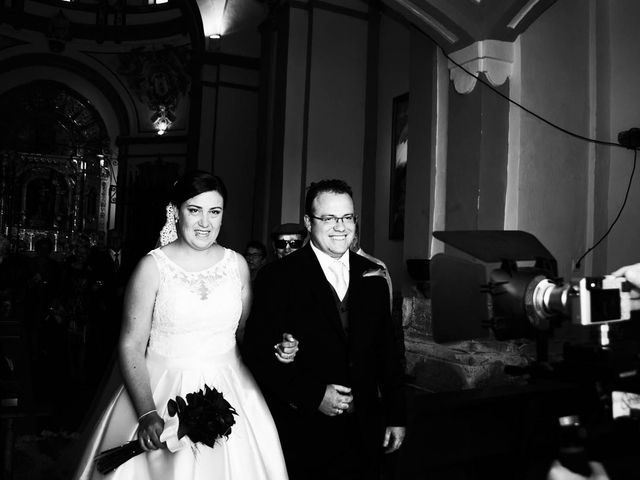 La boda de David y María José en Milmarcos, Guadalajara 13