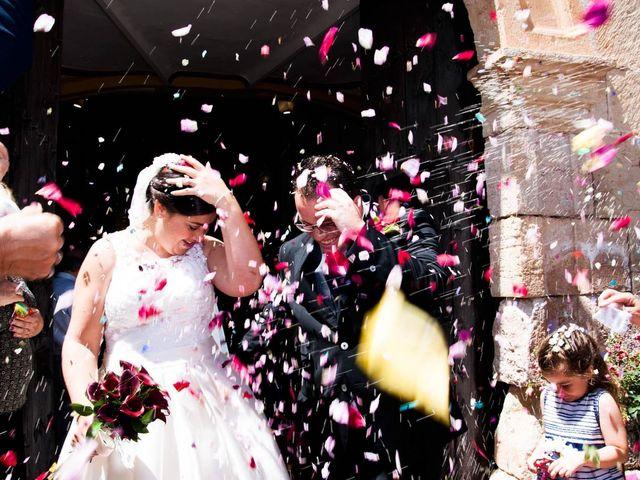 La boda de David y María José en Milmarcos, Guadalajara 14