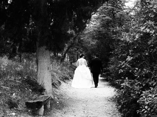La boda de David y María José en Milmarcos, Guadalajara 20