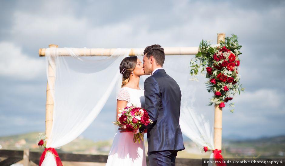 La boda de Noelia y David en Suances, Cantabria