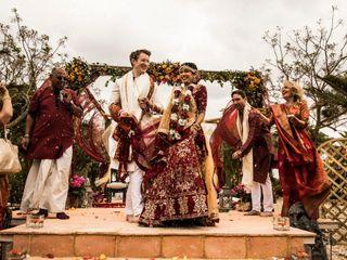 La boda de Reshma y Tom
