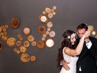 La boda de Rosalía y Jean Pierre