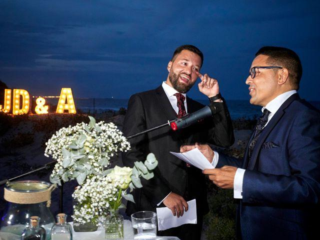 La boda de Aro y Juan Diego en El Saler, Valencia 11