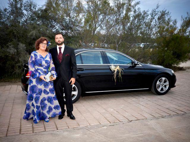 La boda de Aro y Juan Diego en El Saler, Valencia 12