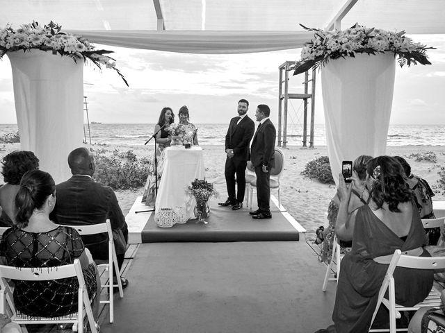 La boda de Aro y Juan Diego en El Saler, Valencia 13